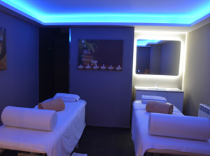 Massage rooms en el mejor Spa de Baqueira Beret Vielha. Nuku Spa