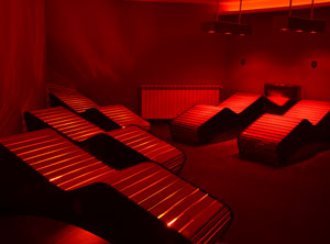 Lounge with infrared hammocks and aromatherapy en el mejor Spa de Baqueira Beret Vielha. Nuku Spa